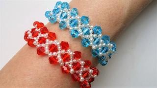 Easy DIY Elegant Bracelet Design. Jewelry Making For Beginners