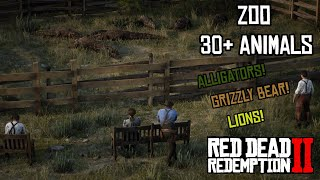 I built a ZOO in Red Dead Redemption 2