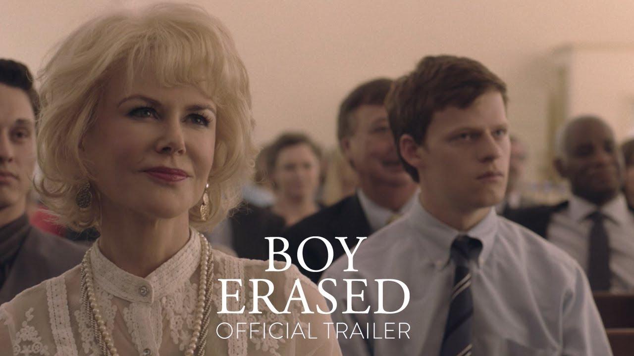 Video trailer för BOY ERASED – Official Trailer [HD] – In Theaters November