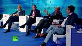 «От Атлантики до Тихого океана»: в рамках ПМЭФ проходят теледебаты RT