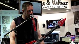 JEFF WATERS (ANNIHILATOR) - The fun palace (On the Musikmesse in Frankfurt 2010, HD)