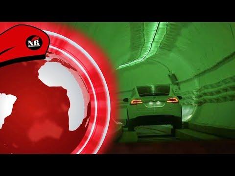 Musk ukázal novinářům svůj tunel! Hackeři sledovali Evropské diplomaty - NR Den 19.12.2018