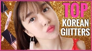 TOP KOREAN GLITTER EYESHADOWS FOR YOUR EYES!