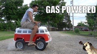 Gas Powered  VW Minibus PowerWheels