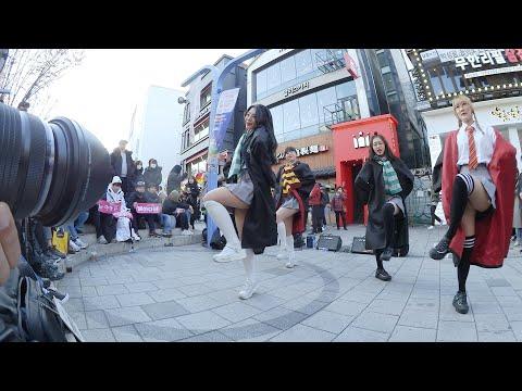 [직캠찍는 직캠] 심쿵해 | AOA - 레이디비(Lady B) 홍대 버스킹 chulwoo 직캠(Fancam)