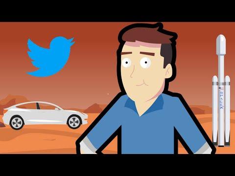 Příběh Elona Muska ve 3 minutách