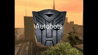 GTA SA Transformers Mod