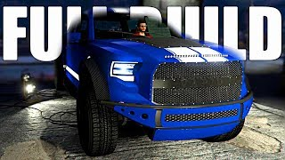 GTA 5: NEW Casino DLC!! Building A FORD/SHELBY RAPTOR! Caracara 4x4 FULL CUSTOMIZATION