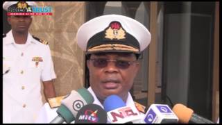 Why I didn't brief Buhari along with Army, Air Force chiefs - Naval Chief