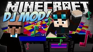 Minecraft | DJ PARTY MOD! (Dr Trayaurus Ultimate Party!) | Mod Showcase