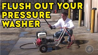 How to Flush Out Your Pressure Washer to Prepare for the Busy Season