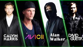Alan Walker, Avicii, David Guetta, Calvin Harris Top Mix - Best Edm Songs