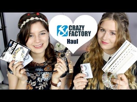 Crazy Factory Haul | Schmuck, Flash Tattoos und Wimpern