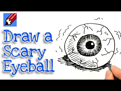 How To Draw A Scary Eye Ball Shoo Rayner Author