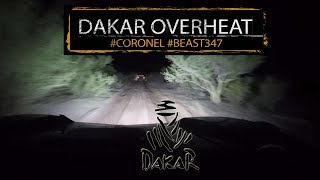 Dakar 2018 stage 10 overheating in the desert with Coronel