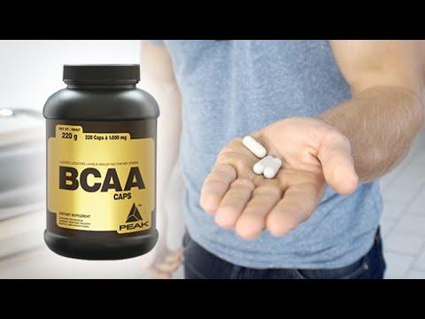 Peak BCAA Caps Review - Tipps zur Einnahme