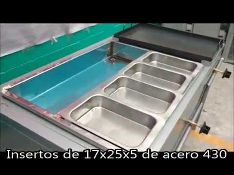 PLANCHA DE 60x40 Y BAÑO MARIA DE 8 INSERTOS