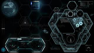 Hi-Tech futuristic technology background video | Artificial Intelligence footages | User interphase