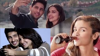 9 Most Romantic Ads | Sidharth Malhotra Ads