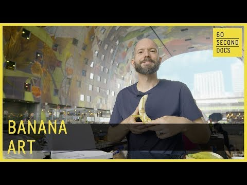 Turning the Humble Banana Into a Canvas