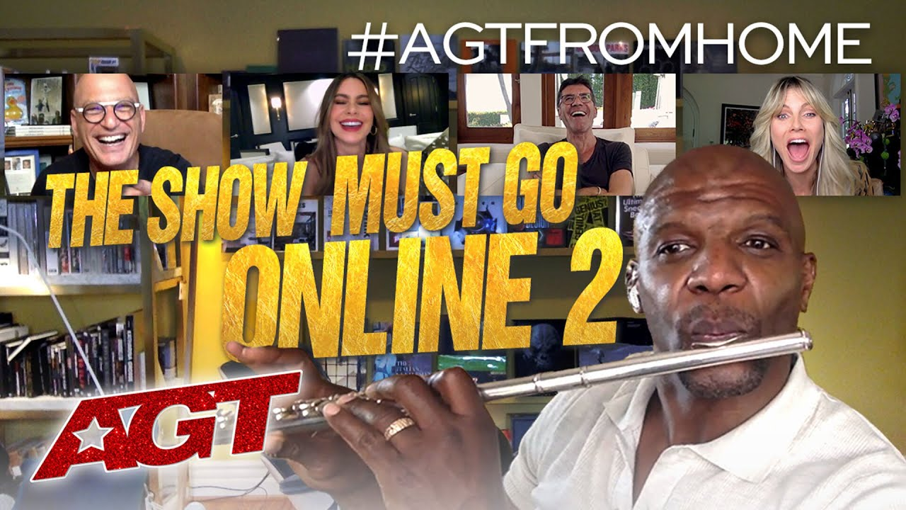 """The Show Must Go Online - """"We Are Family"""" - America's Got Talent 2020 thumbnail"""