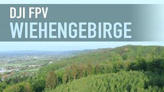 DJI FPV Landscapes (1. Flight) | Germany #NordrheinWestfalen #Wiehengebirge