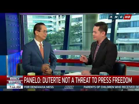 Duterte a threat to US interest, not to democracy: Panelo