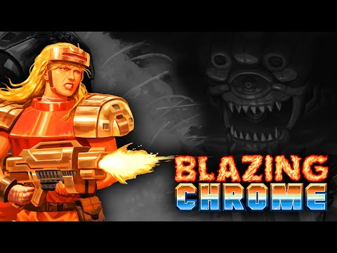Blazing Chrome (PS4) James and Mike Mondays