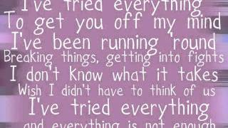 Olly Murs   I've Tried Everything (With Lyrics)