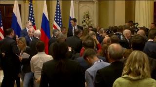 Совместная пресс-конференция Путина и Трампа по итогам встречи в Хельсинки
