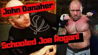 Joe Rogan got Schooled by John Danaher on BJJ 4 basics Tenets