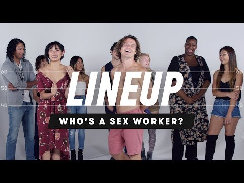 People Guess Who's a Sex Worker from a Group of Strangers
