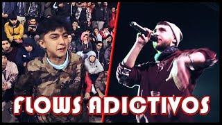 FLOWS que NUNCA te CANSARÁS de ESCUCHAR! | Batallas de Rap