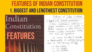 Biggest and Lengthiest Constitution