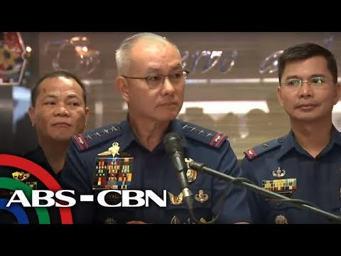 [ABS-CBN]  PNP Chief Albayalde holds press conference | 5 September 2019