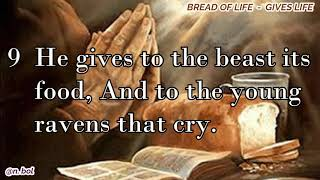 NKJV Audio Bible with Text – Psalm 147 (BREAD OF LIFE)