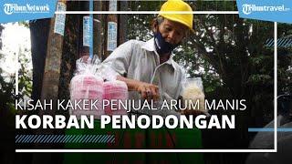 Kisah Kakek Penjual Arum Manis di Bogor, Tetap Jualan Meski Ditodong Orang