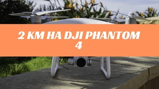 На что способен DJI Phantom 4   Дальность полета   DJI Phantom 4