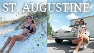 St. Augustine, FL Travel Guide/ Vlog! || things to do + places to eat // Shakira Curtis