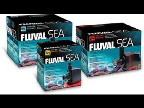 Fluval Sea Sump Pumps for Marine Aquariums