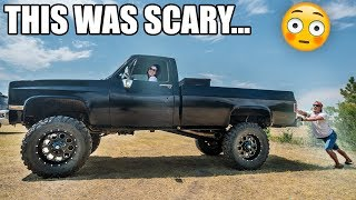 GIRLFRIEND Drives my Truck for the FIRST TIME...