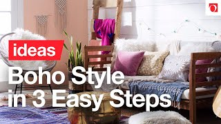 Decorating Boho Chic Style With These 3 Easy Steps - Overstock.com