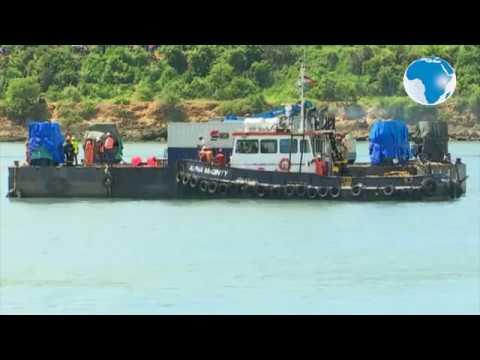 LIKONI FERRY TRAGEDY: Likoni Ferry tragedy: Retrieval of car, bodies underway
