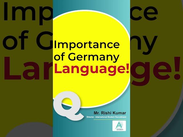 Importance of Germany Language