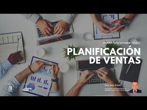Webinar: Planificación de ventas ¿Cómo hacer un plan de ventas para tu negocio o proyecto emprendedor?[;;;][;;;]
