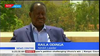 NASA leader, Raila Odinga proposes dialogue with Uhuru Kenyatta
