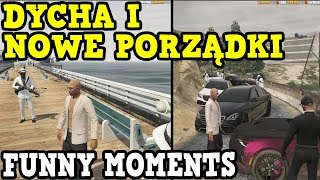 "Isamu ""DYCHA"" i Nowe Porządki /Gta V RP - Funny Moments/Najlepsze akcje z live/skrót z live #13"