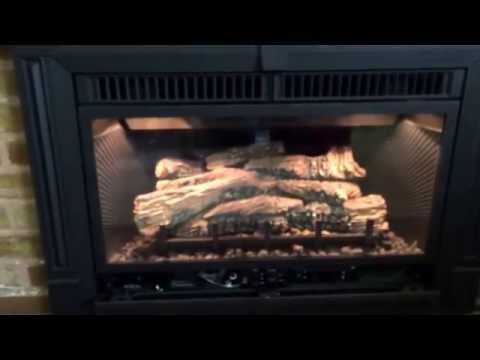 DIY Gas Fireplace Insert with Chimney Liner How To Install