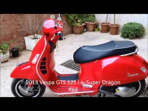 2013 Vespa GTS Super 125 IE Walk Around (Review)