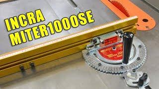 Incra MITER 1000SE: Table Saw Miter Gauge Set Up & Review